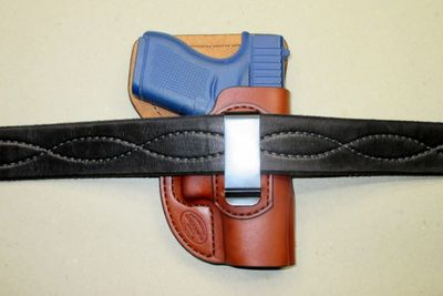 Glock 43 IWB Inside-the-waistband holster with comfort guard and US made clip