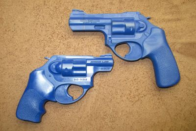 Ruger LCR LCRX 2 inch and 3 inch model Blueguns.