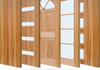 There are a variety of doors designs to choose from