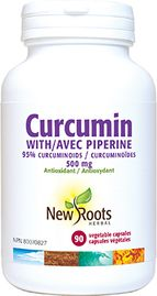 New Roots - Curcumin with Piperine ·  95% curcuminoids . Formulated with black pepper extract