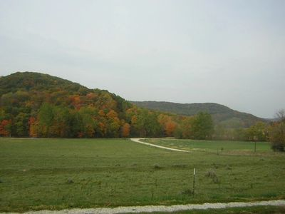 A view of the valley just as the fall colors become apparent.
