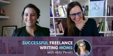 Interview re: how to grow a business as a writer; business coach for female creative business owner
