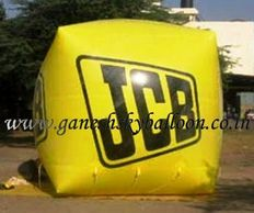 JCB Advertising Sky Balloon, JCB Sky Balloon, JCB Promotional Sky Balloon, JCB Advertisement Sky Balloon.