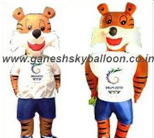 Shera Walking Inflatables, Character Walking Inflatables, Inflatable Air Costume. Shera Inflatable Mascot.
