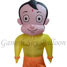 Chhota Bheem Character Walking Inflatables, Chhota Bheem Walking Inflatables, Chhota Bheem Balloon.
