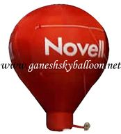 Red Color Promotional Air Inflatable, Novell Air Inflatable Balloon.