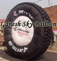 JK Tyre Promotional Air Inflatable, Tyre Shape advertising air inflatable.