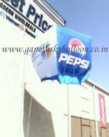 Pepsi Sky Balloon, This is advertising sky balloon for PEPSI advertising install in Zirakpur.