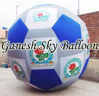 Cold Air Inflatable Foot Ball, Promotional Air Inflatable.