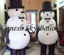 Snowmen Character Inflatables, Inflatable walker, inflatable balloon, inflatable Micky mouse.
