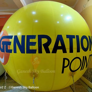 Generation Point Sky Balloons, Generation Point Advertising Balloons, Sky Balloons, Ganesh Balloon.