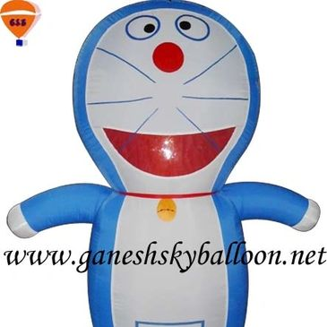 Doraemon walking Inflatables, Doraemon Air Inflatables, Doraemon Inflatable Costume. Inflatables.