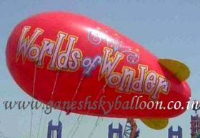 Blimp Advertising Balloons, Blimp Sky Balloons, Worlds of Wonder Advertising Sky Balloons, Balloons