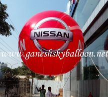 Sky Balloon Advertising, Advertising Sky Balloon Manufacturers in Delhi.