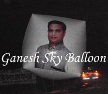 Sky Balloon install in Saharanpur, Advertising Sky Balloon for Samajwadi Party