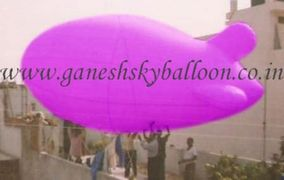 Blimp Advertising Balloons, Sky Balloons, Sky Balloon Manufacturers in Chandigarh, Balloon in Karnal