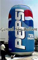 Pepsi Can Shape cold air filed Advertising Inflatable Balloon, Can shape Advertising Air Inflatable.