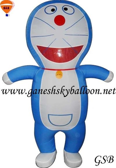Doraemon Inflatable Mascot, Cartoon character Inflatable Mascot, Doraemon Air Inflatable Costume.