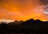 """Desert Sunset Dream""- An amazing sunset is created over Piestewa Peak after a brief winter storm."