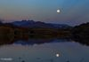 """Moon Over Phon D Sutton"" - A glorious supermoon rise, over the Salt River, along the Phon D Sutton area, in Arizona, USA."