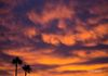 """Swirl Clouds""- Magnificent clouds swirl in the sky at sunrise over Phoenix."