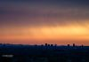"""Golden Phoenix""- The sky turns orange & gold, as the sun sets over downtown Phoenix."