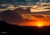 """Good Night Sun""- A distant rain storm, along with smoky skies, create a marvelous sunset, over Tonto National Forest."