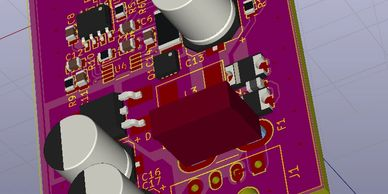 PCB Design service, single, double and multilayer, high speed and RF design experience over 20 years