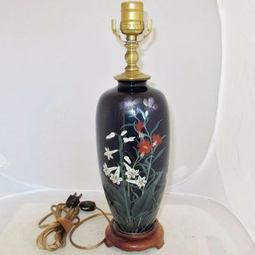 Lamp creations, lamp from vases, lamp made from bottles, lamp made from an urn, lamp creation, lamp