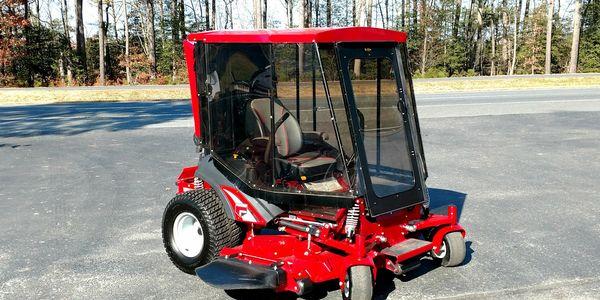 Cab N Air - Air Conditioned Lawn Mower   Fairdale Farm ...