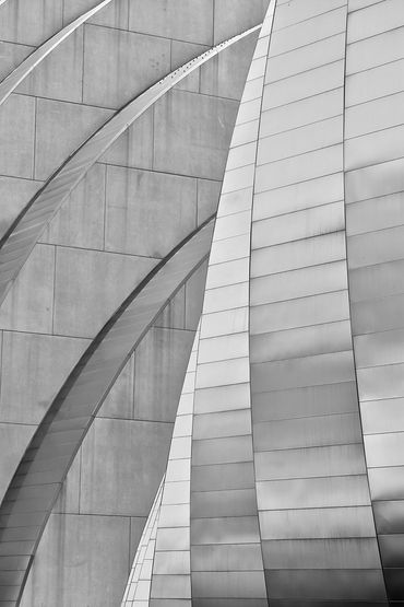 black and white photography,  Gerald Hill photography, Kauffman center for the performing arts,