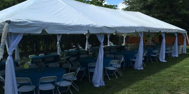 tent pole covers polyester rental