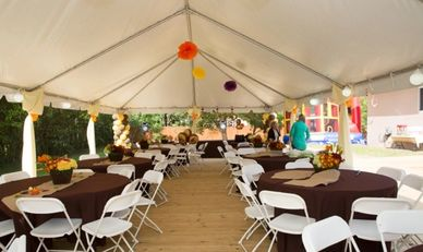 20x30 tent rental capacity for 70 people ,We have the best prices for rental guaranteed in miami.