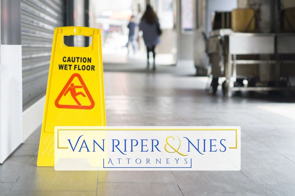 Slip and Fall Wet Floor Sign