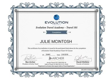 Professional Travel Agent Certificate