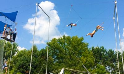 Kids Camp on the Flying Trapeze