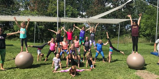 FLYING TRAPEZE CAMP FOR GYMNASTS