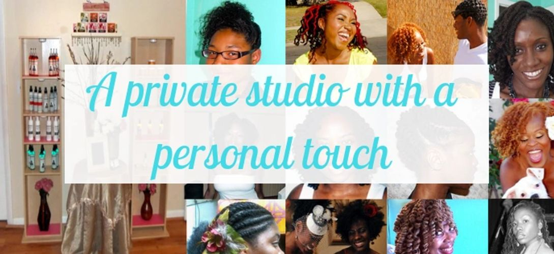 A private studio with a personal touch.