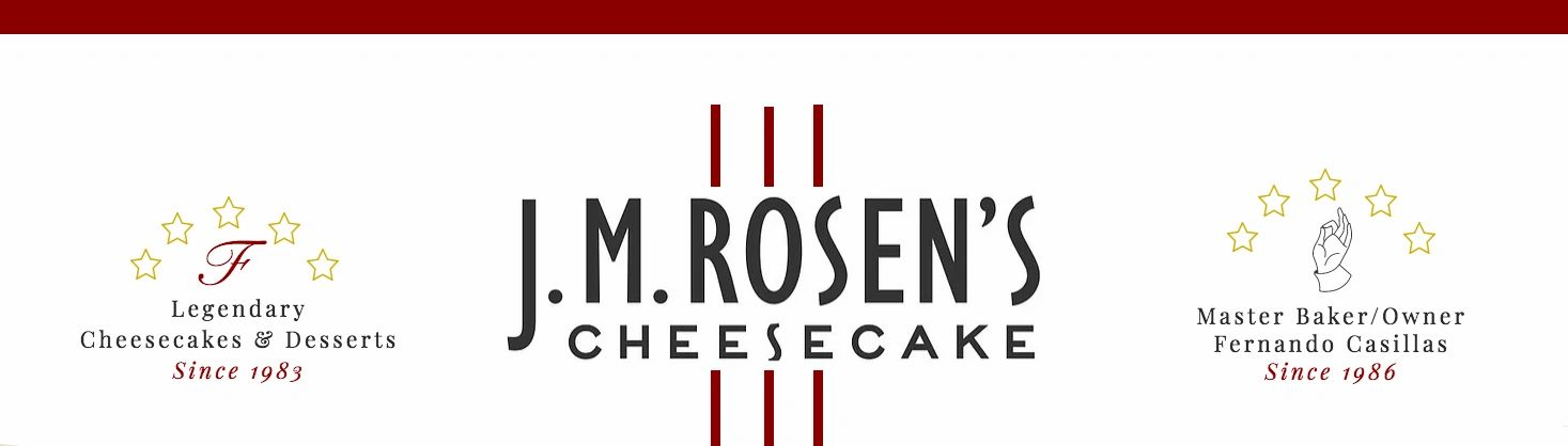 J.M. Rosen's Cheesecakes - Wholesale and New York Cheesecakes and Cakes Online