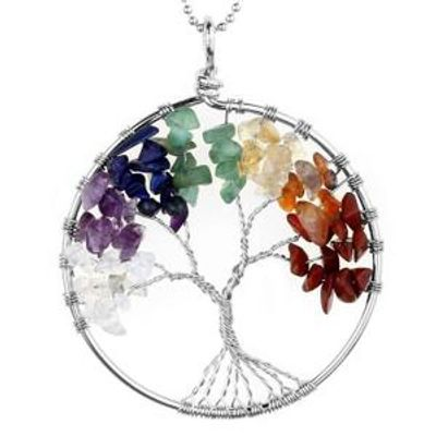 Tree of Life Gemstone Pendant Do It Yourself DIY Jewelry Class Just Bead Yourself in Westfield NJ