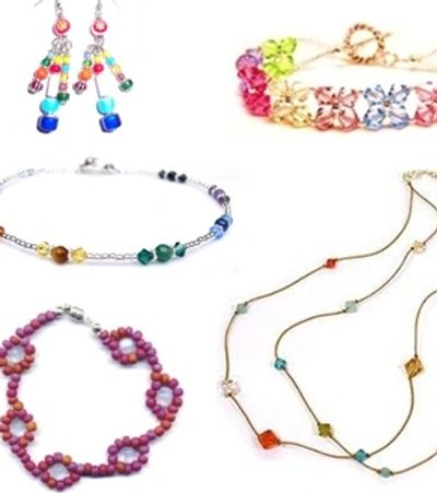 Bead Basics jewelry making summer camp just yourself westfield nj kids bracelet necklace diy fun