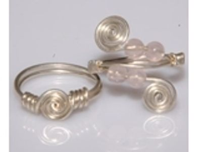 Wire Ring Jewelry Class DIY Just Bead Yourself in Westfield NJ Adult Do It Yourself Fun