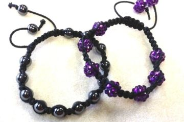 Shamballa Bracelet Class at Just Bead Yourself in Westfield, NJ