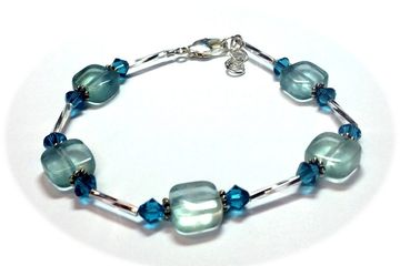 Gemstone Energy Bracelet Class Just Bead Yourself in Westfield NJ Adult Jewelry Making DIY Fun