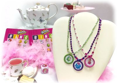 Shopkins Tea Party and Beading at Just Bead Yourself in Westfield NJ