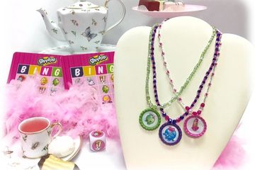 Shopkins Birthday Beading Party at Just Bead Yourself in Westfield, NJ Fun Do It Yourself Kids