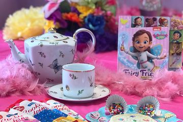 Butterbean's Cafe Fairy Tea Party at Just Bead Yourself