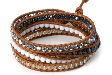 Leather Wrap Bracelet Class at Just Bead Yourself in Westfield NJ Chan Luu Fun Jewelry
