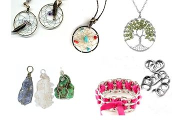 Earth Spirit Jewelry Summer Bead Camp Just Yourself Westfield NJ Fun Kids To Do Recycle Dreamcatcher