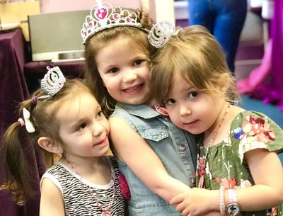 Princess Tea Party at Just Bead Yourself in Westfield NJ Fun DIY Jewelry Making Disney Create